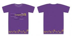 Camiseta - Evangelizador - lilas