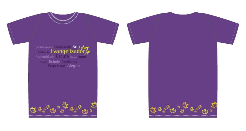 e890b3a6c Camiseta - Evangelizador - lilas