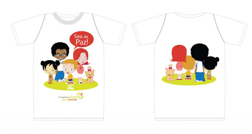Camiseta - criança
