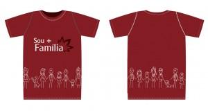Camiseta - família