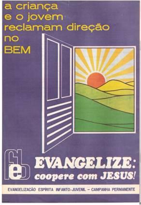 Cartaz Evangelização - 1977 - 1978 - 1