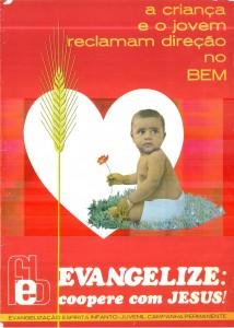 Cartaz Evangelização - 1977 - 1978 - 3