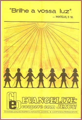 Cartaz Evangelização - 1981