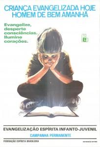 Cartaz Evangelização - 1985 - 1m