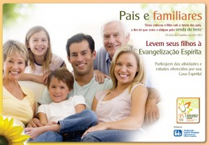 Cartaz Evangelização - 2012 - 2 - Pais e Familiares