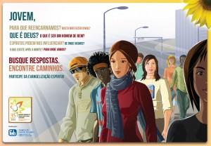 Cartaz Evangelização - 2012 - 3 - Jovens
