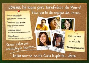 Cartaz Evangelização 2012 - 6 - Juventude
