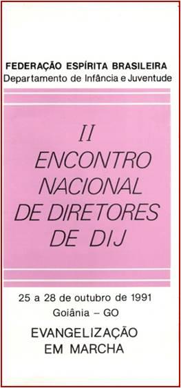 Encontro Nacional - II - 1991